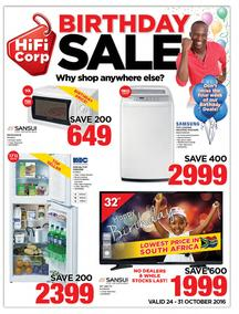 HiFi Corp : Birthday Sale (24 Oct - 31 Oct 2016), page 1