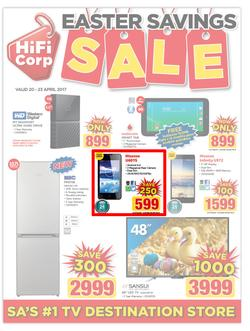 HiFi Corp : Easter Savings Sale (20 Apr - 23 Apr 2017), page 1