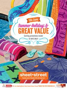 Sheet Street : We Love Summer Holidays & Great Value (27 Nov - 6 Dec 2015), page 1
