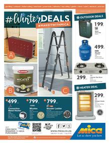 Mica National : Winter Deals (19 Jun - 01 Jul 2018), page 1