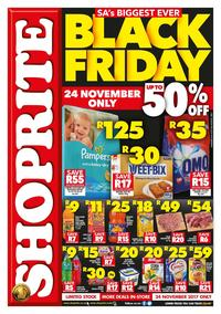 Shoprite Northern Cape : Black Friday (24 Nov 2017 Only), page 1