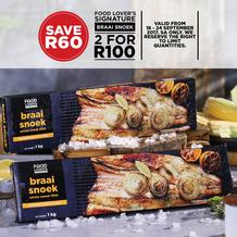 Food Lover's Market : Braai Snoek (18 Sep - 24 Sep 2017), page 1