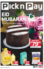 Pick n Pay : Eid Mubarak (13 Aug - 26 Aug 2018), page 1