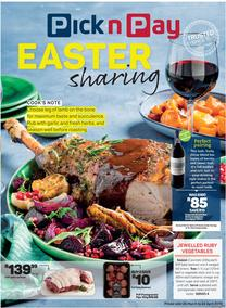 Pick n Pay : Easter Sharing (25 Mar - 21 Apr 2019), page 1