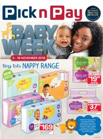 Pick n Pay : Baby Week Savings (05 Nov - 18 Nov 2018), page 1