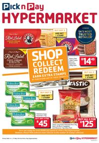 Pick n Pay Hyper : Shop, Collect & Redeem (14 May - 27 May 2018), page 1
