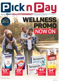 Pick n Pay : Wellness Promotion (21 May - 03 Jun 2018), page 1
