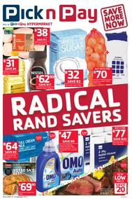 Pick n Pay : Radical Rand Savers (19 Sep - 24 Sep 2017), page 1