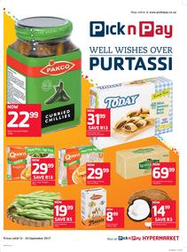 Pick n Pay : Well Wishs Over Purtassi (12 Sep - 24 Sep 2017), page 1