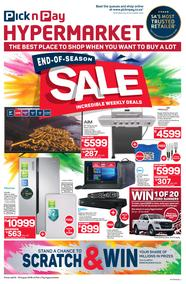 Pick n Pay Hyper : End-Of-Season Sale  (06 Aug - 19 Aug 2018), page 1