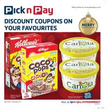 Pick n Pay : Discount Coupons On Your Favourites (05 Dec - 26 Dec 2017), page 1