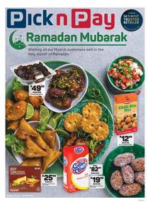 Pick n Pay  Gauteng, Free State, North West, Mpumalanga, Limpopo and Northern Cape : Ramadan Mubarak (13 May - 26 May 2019), page 1