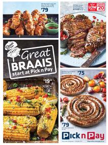 Pick n Pay KZN : Great Braai's Start At Pick n Pay (18 Sep - 15 Oct 2017), page 1