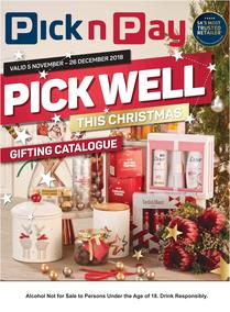 Pick n Pay : Pick Well This Christmas Gifting Catalogue (05 Nov - 26 Dec 2018), page 1