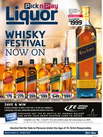 Pick n Pay : Whisky Festival (16 May - 28 May 2017), page 1