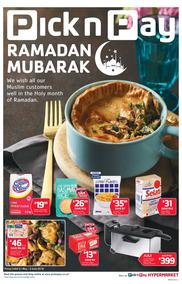 Pick n Pay Eastern Cape : Ramadan Mubarak (21 May - 03 Jun 2018), page 1