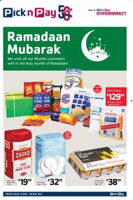 Pick n Pay : Ramadaan (15 May - 28 May 2017), page 1