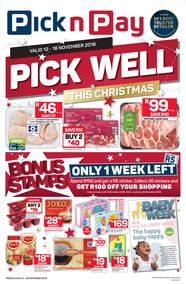 Pick n Pay Eastern Cape : Pick Well This Christmas (12 Nov - 18 Nov 2018), page 1