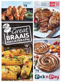 Pick n Pay : Great Braai's Start At Pick n Pay (18 Sep - 15 Oct 2017), page 1