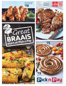 Pick n Pay Eastern Cape : Great Braai's Start At Pick n Pay (18 Sep - 15 Oct 2017), page 1