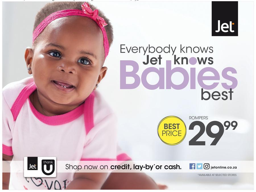 Jet : Babies (26 Aug - 11 Sep 2016)