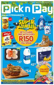 Pick n Pay : Inland (22 Aug - 4 Sep 2016), page 1