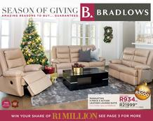 Bradlows : Season Of Giving (20 Oct - 10 Nov 2016), page 1