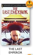 The Last Emperor DVD-Each