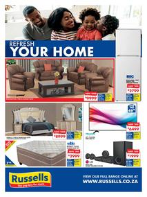 Russells : Refresh Your Home (17 Sep - 17 Oct 2018), page 1