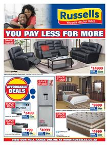 Russells : You Pay Less For More (16 Apr - 13 May 2018), page 1