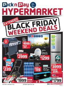 Pick n Pay Hyper : Black Friday Weekend Deals (24 Nov - 26 Nov 2017), page 1