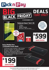 Pick n Pay : Cellular Black Friday Deals (24 Nov 2017 Only), page 1