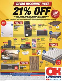 OK Furniture : 21% OFF (21 Mar - 24 Mar 2019), page 1