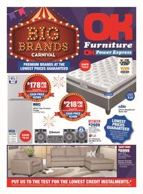 OK Furniture : Big Brand Carnival  (09 Apr - 22 Apr 2019), page 1