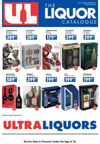 Ultra Liquor (20 Oct - 31 Dec 2017), page 1