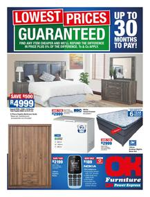 OK Furniture : Lowest Prices (09 Oct - 21 Oct 2018), page 1
