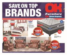 OK Furniture : Save On Top Brands (24 Apr - 05 Jun 2019), page 1