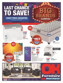 OK Furniture : Big Brand Carnival (21 May - 05 Jun 2019), page 1