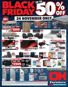 OK Furniture : Black Friday (24 Nov 2017 Only), page 1
