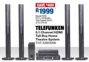 Telefunken 5.1 Channel HDMI Tall Boy Home theatre System THT-538HDMI
