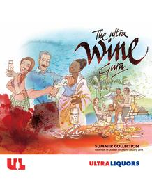 Ultra Liquor : Summer Collection (19 Oct - 10 Jan 2016), page 1