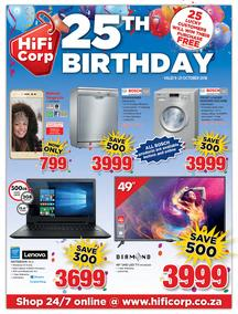 HiFi Corp : 25th Birthday (09 Oct - 21 Oct 2018), page 1