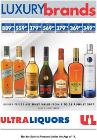 Ultra Liquor : Luxury Brands (01 Aug - 31 Aug 2017), page 1