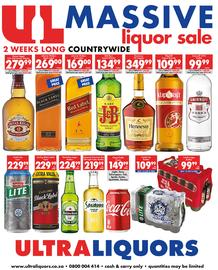 Ultra Liquors : Massive Liquor Sale (13 Nov - 26 Nov 2017), page 1