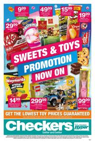 Checkers Western Cape : Sweets & Toys (02 Jul - 22 Jul 2018), page 1