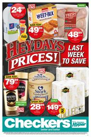 Checkers Western Cape : Heydays Prices (15 Oct - 21 Oct 2018), page 1