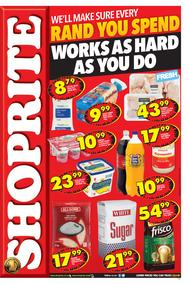 Shoprite Western Cape : Hustle Promotion (09 Jul - 22 Jul 2018), page 1